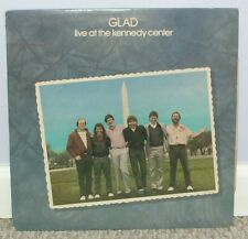 Glad -- LIVE AT THE KENNEDY CENTER -- 1984 LP
