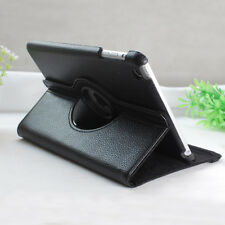360 Degree Rotating Stand Leather Case Film for iPad Mini 1 2 3 w/Retina Display