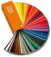 RAL K5 Classic Semi-matte guide - New All the Classic colours on 150x50mm pages.