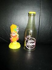 Vintage Liddle Kiddles Laffy Lemon Kola Cola Soda Pop Bottle Little Doll Yellow