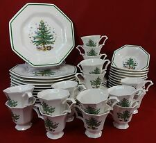 NIKKO china CHRISTMASTIME 259 pattern 60 piece Set