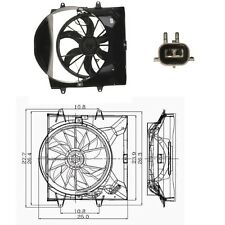 Electric Cooling Fan Assembly For: 1999-2003 Jeep Grand Cherokee V8 4.0L L6 4.7L