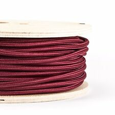 FABRIC CABLE FLEX | braided in Italian fabric  | 3 core | sold per meter