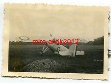 Foto, Wehrmacht, Beute, Flugzeug, Morane-Saulnier MS.230, Frankreich
