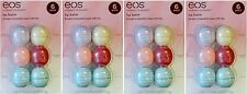 4 EOS Evolution Of Smooth 6 Flavor Pack Lip Balm w/ 12 Visibly Soft & 12 Organic