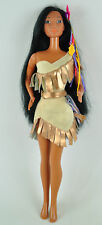 Pocahontas XXL muñeca 47cm barbie Collectors World Doll Disney personaje rar 01-b-po