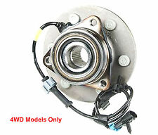 New DTA Front Wheel Hub and Bearing Assembly with Warranty 4WD Only 515036