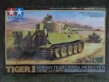 Tamiya German Tiger I Tank (Initial Production) No. 32529 MM No. 29 1:48 Scale