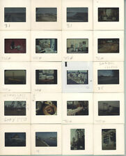COLOR SLIDES, MACHINES, LANDSCAPES, DRILLING RIGS, SHOPS ECT. GROUP OF 70.