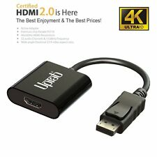 DisplayPort 1.2 to HDMI 2.0a 4k@60hz Active Adapter