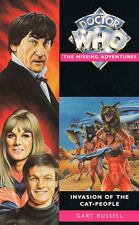 Dr Doctor Who Missing Adventures Book - INVASION OF THE CAT PEOPLE - (Mint New)