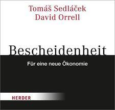 Sedlacek, Tomas - Bescheidenheit - für eine neue Ökonomie