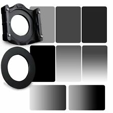 GND&ND2+ND4+ND8+ND16 Neutral Dendity Filter&82mm Ring+Holder Kit For Cokin Z-PRO