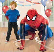Marvel Spider Man 3-D AIR WALKER Foil Balloon Birthday Party Decoration AWK ~36""
