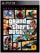 Grand Theft Auto V -- Special Edition (Sony PlayStation 3, 2013) - European...