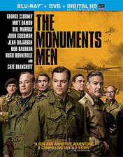 THE MONUMENTS MEN Blu-ray + DVD George Clooney
