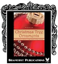 Vintage Beaded Sequin Christmas Ornament Making Instruction Patterns Book 2