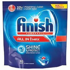 Finish Powerball All in 1 Max Shine & Protect Washing Dishwasher Tabs 90 Tablets