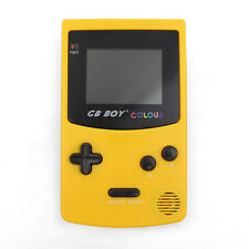 """Kong Feng GB Boy Colour Handheld Console for GB & GBC Games 2.7"""" Backlit Yellow"""