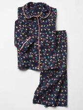 GAP Baby Toddler Girls Size 12-18 Months Festive Christmas Lights Pajama PJ Set