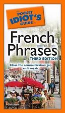 Pocket Idiot's Guide to French Phrases by Gail Stein (2009, Paperback)