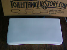 Gerber W17 SHORT Toilet Tank Lid, White, Nice condition!  6D