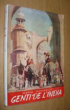 MODAELLI GENTI DE L'INDIA 1945 PONTIFICIO ISTITUTO MISSIONI ESTERE