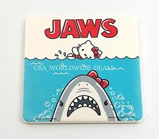NEW Universal Studios Park Hello Kitty Drink Coaster Jaws