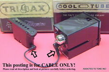 Takamine TriAx Pickup to CTP-3 / CTP-2 / CTP-1 PreAmp Connect Cable Hard To Find