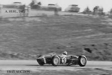 Lotus 18 Formula One & Stirling Moss - F1 USA Grand Prix - Riverside - 1960 -