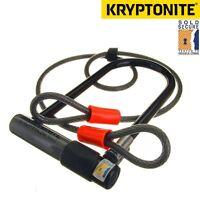 Kryptonite Series 2 Kryptolok Sold Secure Bike D / U Lock with 4ft Flex Cable