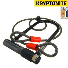 Kryptonite Series 2 Kryptolok venduto Secure BICI D / U LOCK CON 4 PIEDI Cavo Flessibile