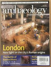 Current Archaeology Battle Of Bannockburn London June 2015 FREE SHIPPING!