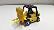 Vintage Hot Wheels Blackwalls Caterpillar Fork Lift From 1981