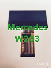 01 - 04 Mercedes C class,W203  Speedometer cluster LCD display screen, D Class