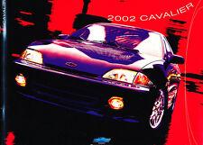 2002 Chevrolet Cavalier and Z24 24-page Original Canada Sales Brochure Catalog