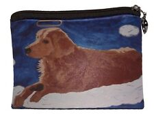 Dog Angel Change Purse, Coin Purse - From my Original Oil Painting, Ginger