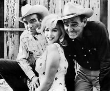 Marilyn Monroe, Montgomery Clift and Clark Gable photo - C1111 - The Misfits