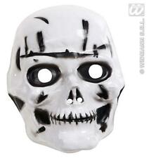 Childrens Plastic Skull Mask Skeleton Halloween Fancy Dress