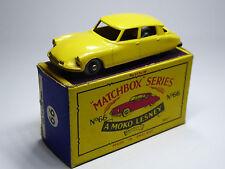 Lesney Matchbox 1-75 Regular Wheels 66a Citroen DS19