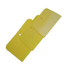 3 teiliges Set elastische Kunststoffspachtel Glättspachtel Spachtel