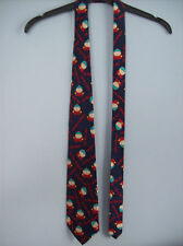Tie By Carnaval South Park I'm Not Fat I'm Big Boned Tie 100% Silk 1998 New