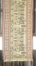 Songket wall hanging from Lombok weaving