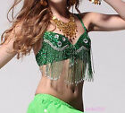 Belly Dance Costume Top bra Blouse US Size 32-34B/C 8 colours