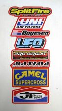 Rear Fender Decal CR 125 250 500 1988 to 1989 Graphics Stickers #6