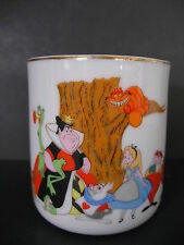 Disney Alice in Wonderland mug cup Japan Queen King Cheshire Cat White Rabbit