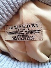 Burberry hat beanie Blue