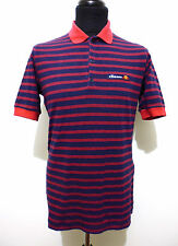 ELLESSE VINTAGE '70 Polo Maglietta Uomo Cotton Man Pole T-Shirt Sz.M - 48