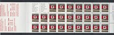 Canada 1993 Flag Booklet of 25 x 43c MNH