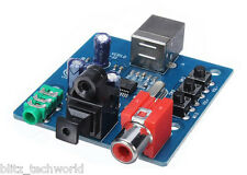 PCM2704 USB DAC USB To S/PDIF Sound Card Decoder Board 3.5mm Analog Output